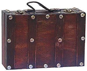 maletas decorativas vintage de madera